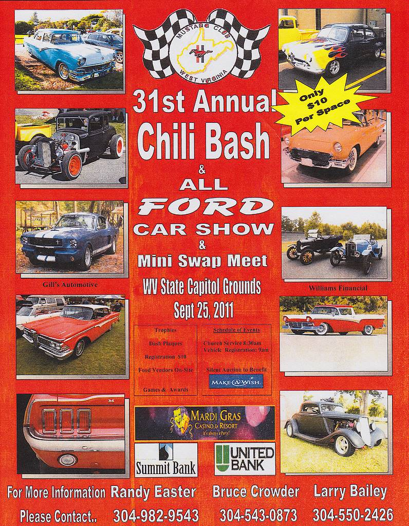 31st Annual Chili Bash